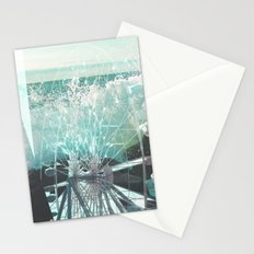 wave wheel Stationery Cards
