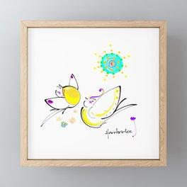 design 11 Framed Mini Art Print