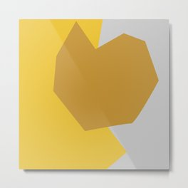 Minimalism Abstract Colors #11 Metal Print