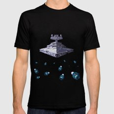 I-class Star Destroyer MEDIUM Mens Fitted Tee Black
