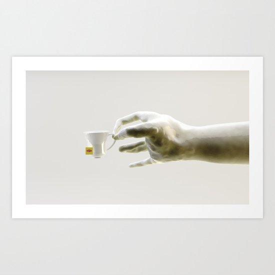 Everyone's invi-TEA-d - 2 Art Print