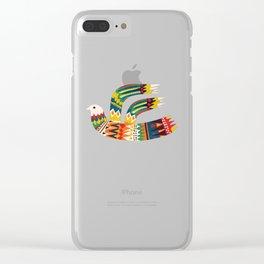 Native Bird Clear iPhone Case