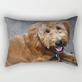 Good Doggo Rectangular Pillow