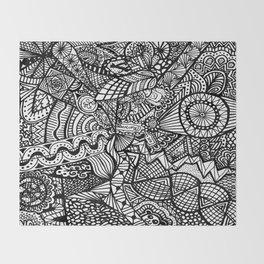 Doodle 5 Throw Blanket
