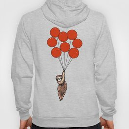 I Believe I Can Fly Sloth Hoody