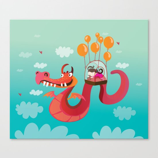 Dragona Canvas Print