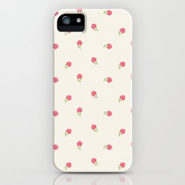 Romantic Dainty Floral iPhone Case