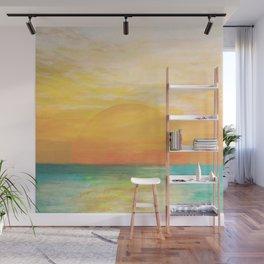 Summer Sunset Wall Mural