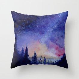 The Blue Hour Throw Pillow