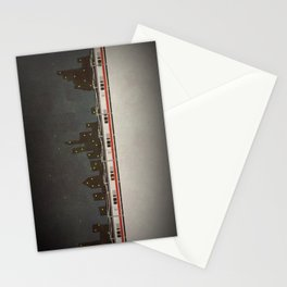 Train Scene Stationery Cards