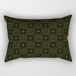Diamond gold pattern Rectangular Pillow