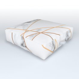 Marble Geometry 054 Outdoor Floor Cushion