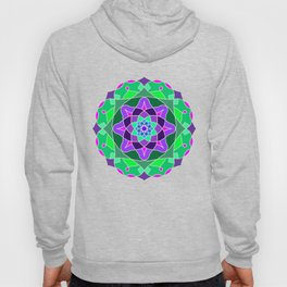 Mandala in nostalgic colors Hoody