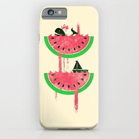 Watermelon falls Final iPhone & iPod Case