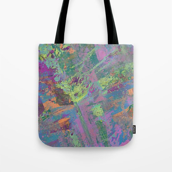 Abstract Thoughts 2 - Textured, painting Tote Bag