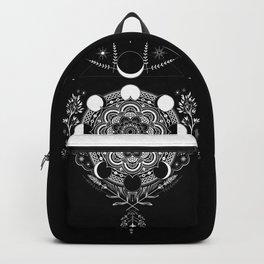 Moon Mandala Backpack