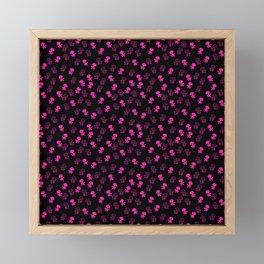 Aliens-Pink Framed Mini Art Print
