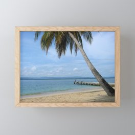 Isle of San Blas PANAMA - the Caribbeans Framed Mini Art Print