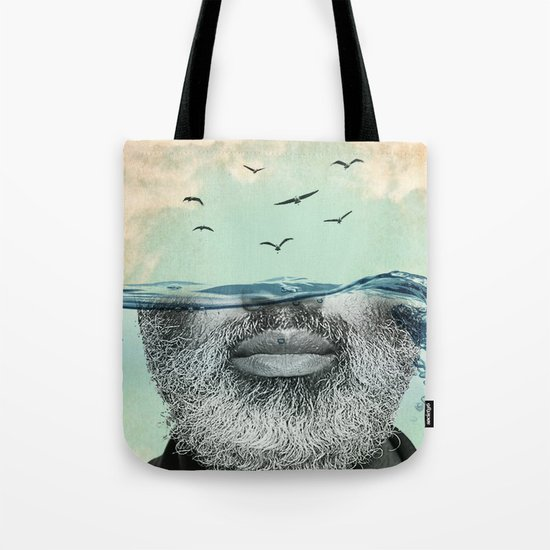 Under the water line Tote Bag