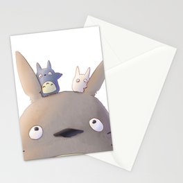 My Neighbor Totoros  Stationery Cards