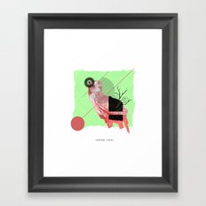 Natural Living Framed Art Print