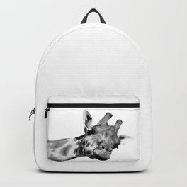 Black and white giraffe Backpack