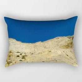 At the bottom of the cliff Rectangular Pillow