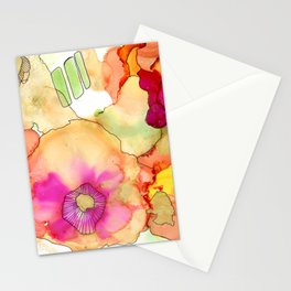 Neon Petunia Stationery Cards