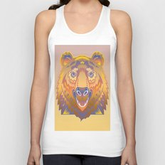 Graphic Abstraction Unisex Tank Top