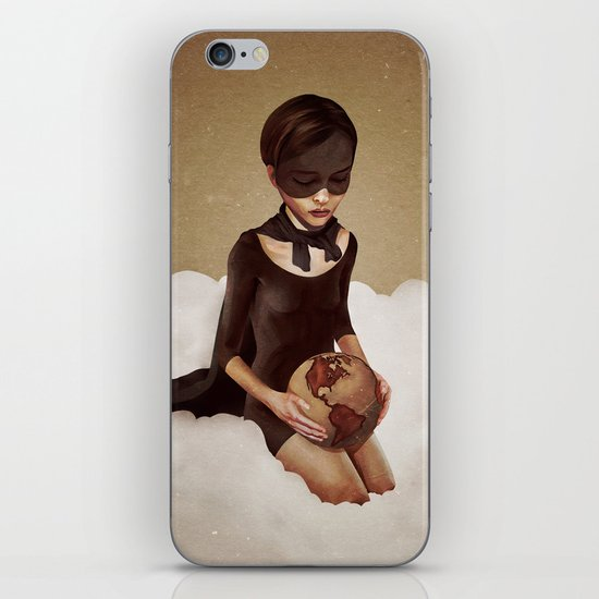 With Great Power iPhone & iPod Skin