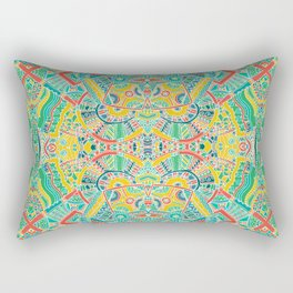 Boho pattern Rectangular Pillow