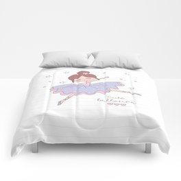 Cute Ballerina Comforters