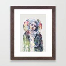 goodmorning world Framed Art Print