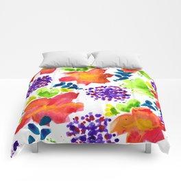 Wildflowers - Cheerful - Botanical Comforters