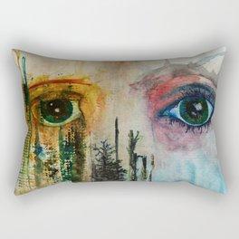 BLENDED Rectangular Pillow