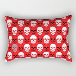 all just a little bit of skulls repeating Rectangular Pillow