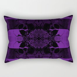 Transmitting Craniums [Purple] Rectangular Pillow