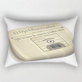 the observer eye Rectangular Pillow