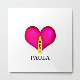 Support for Paula Deen Metal Print