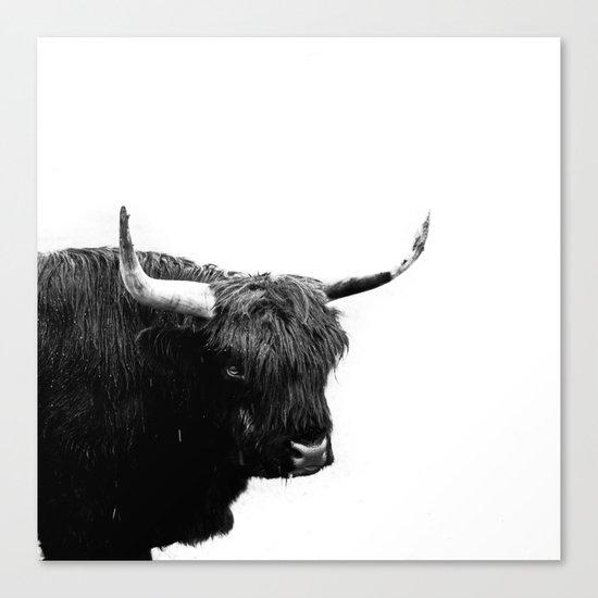 Lumbering Beast II  Canvas Print