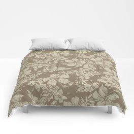 Hibiscus Pareau Hawaiian Floral Aloha Shirt Print Comforters
