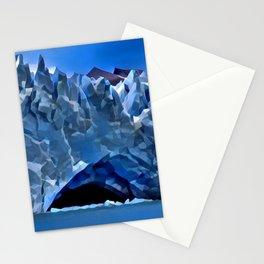 Perito Moreno Glacier Valhalla Entrance Condensed Glacial Castle Stationery Cards