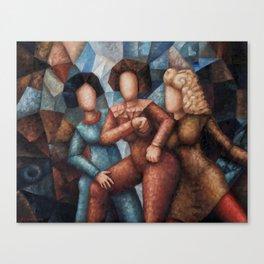 Busy Women Canvas Print