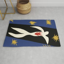 Henri Matisse The fall of Icarus (La Chute d'Icare) from Jazz Collection, 1947, Artwork, Men, Women, Rug