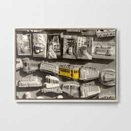 Magnetic Tram  Metal Print