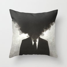 Confessions of a Guilty Mind. Throw Pillow