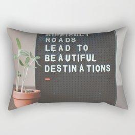 Cult roads Rectangular Pillow