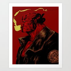 Right Hand of Doom Art Print