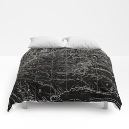 Venezuela Antique Map Comforters