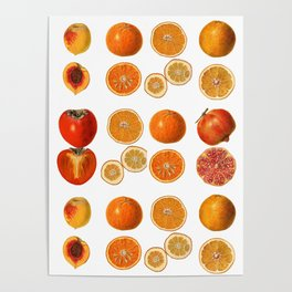 Fruit Attack Poster